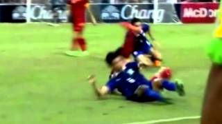 Sarach Yooyen Thailand Midfielders vs Vietnam   FIFA World Cup Russia 2018 Qualifiers  