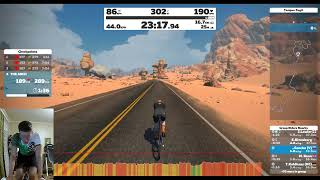 Zwift Time Trial Tuesday: Tempus Fugit
