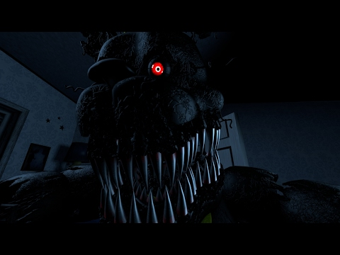 [FNAF SFM] Five Night's at Freddy's 4 All Jumpscare's Animation