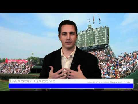 Chicago Cubs Public Address Announcer Audition Video - Carson Greene - 03/01/2011