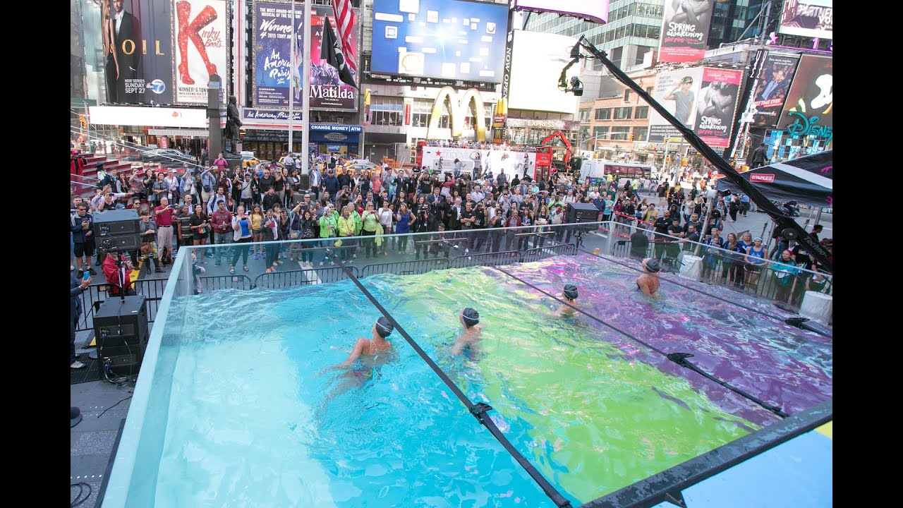 Live Production New York Swimming In Ink W Epson Broadcast Management Group