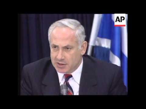 Israel - Netanyahu on possible talks with Syria