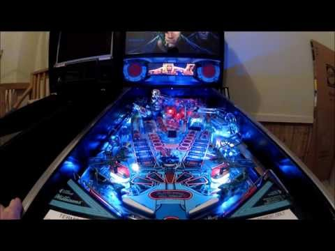 Terminator 2 Pinball Gameplay