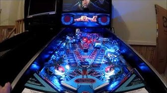 Terminator 2 Pinball Gameplay