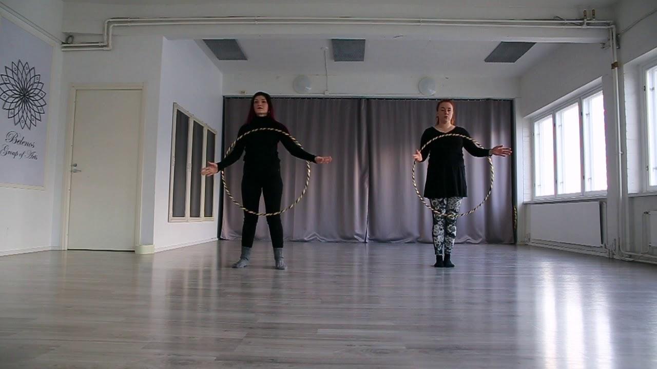 Helppo vannetanssi koreografia! ( MoodforHoop 2020 )
