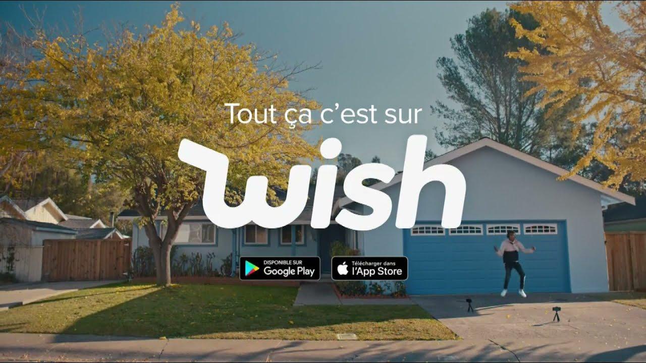 """Musique de la pub Wish """"on est tous un peu coincés à la maison""""  2021"""