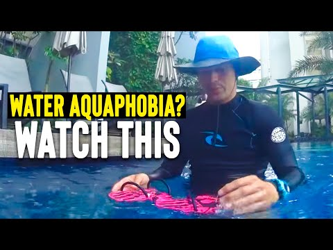 Aquaphobia BEGINNER learn to SWIM float & relax in 1 LESSON * Adult become Water safe & confident