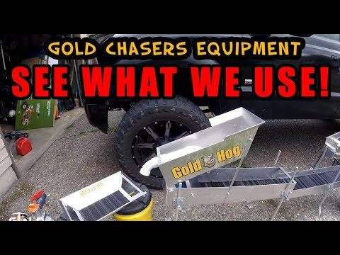 Our Gold Mining Equipment List... See What We Use For Small Scale Mining!