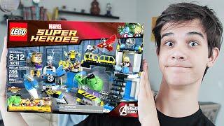 LEGO Hulk Lab Smash (76018) - НАБОР НА ОБЗОР(, 2015-07-05T11:00:01.000Z)
