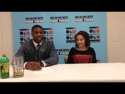 Frank Pinson with Madison Moore