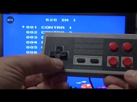 Retro Games Console with 620 Games review : From aliexpress
