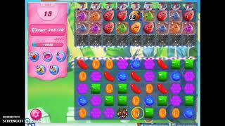 Candy Crush Level 1602 Audio Talkthrough, 3 Stars 0 Boosters