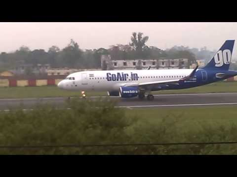 Patna Airport take off video 1
