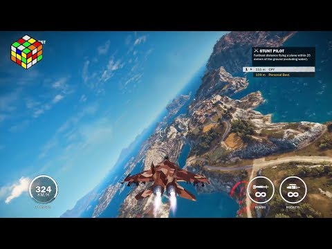 Just Cause 3 destruindo de jato!