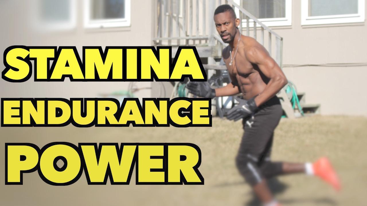 how to build stamina