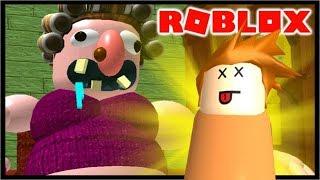 DO NOT PLAY ROBLOX AT GRANDMA'S HOUSE! | Roblox Escape The Evil Grandma Obby