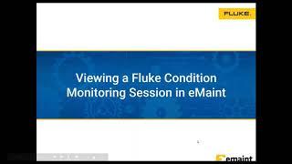Web-Workshop: Asset data integration with Fluke sensors
