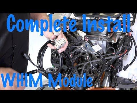 Install Harley Wireless Headset Interface Module-WHIM-Flash-Update Software-DIY