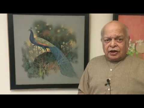 Paintings through the eyes of the Artist himself (Part-1) Ravi Paranjape