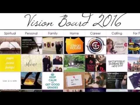 She Organizes: A Digital Vision Board (MS Publisher)