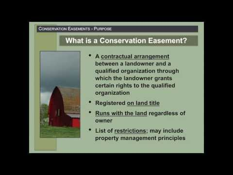 Kim Good: Conservation Easements
