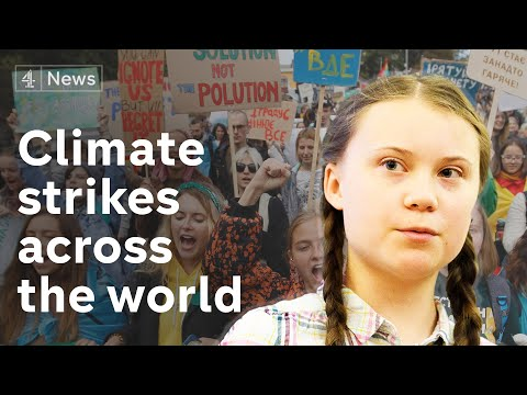 Global climate strike: Millions take to the streets to save the world