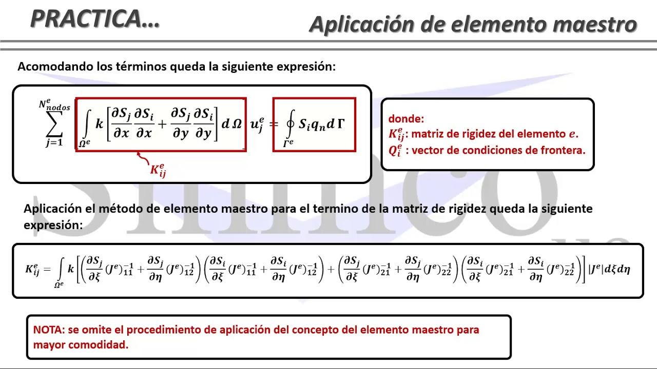3 1 5 Ejemplo De Metodo De Elementos Finitos Bidimensional En Problema Potencial