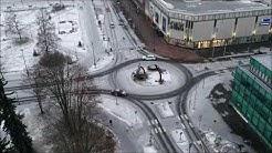 Joensuu, Rantakatu hyperlapse 8.12.2019