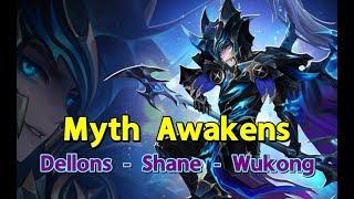 Categorias de vídeos myth awakening shane