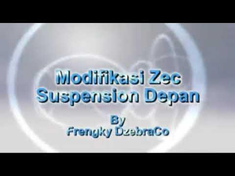 ZEBRA ESPASS modifikasi suspensi depan