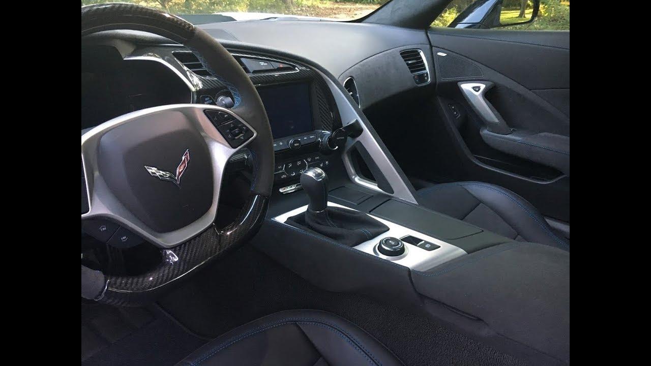 2018 Corvette Grand Sport >> 2018 Corvette Z06 Carbon 65 Edition Interior - [4K] UHD ...