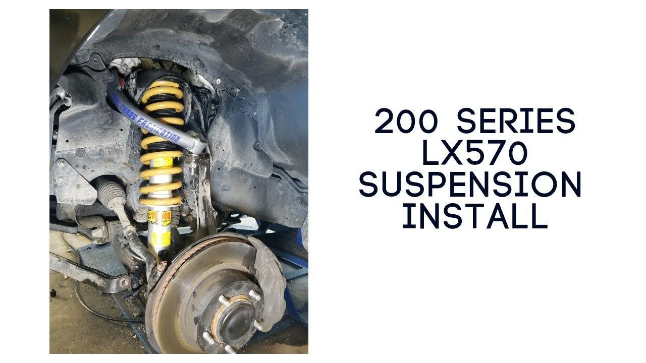 200 Series Land Cruiser Suspension Install