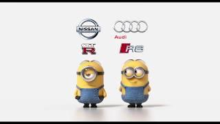 Nissan GTR vs Audi R8