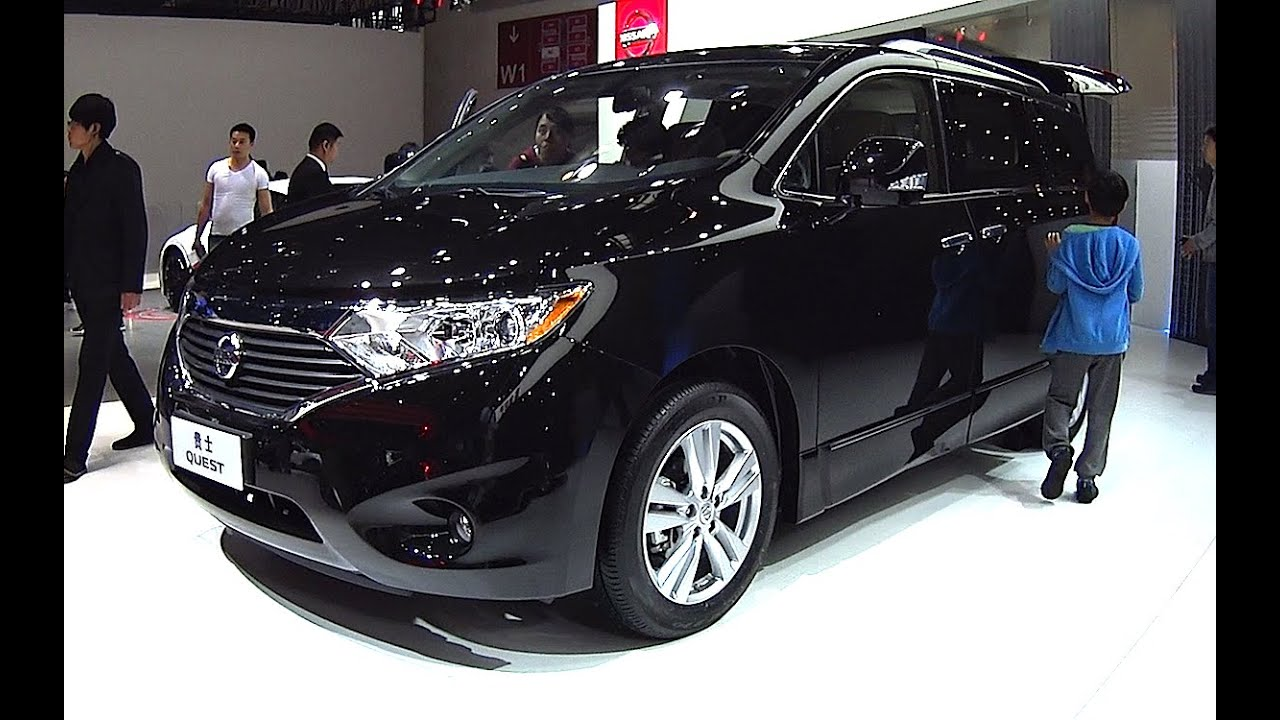 2016 2017 Nissan Quest Minivan New Van Model
