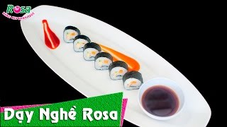 Sushi Nhật Bản - How to easy make Sushi