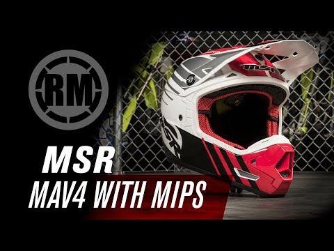 MSR Mav4 w/MIPS Motocross Helmet