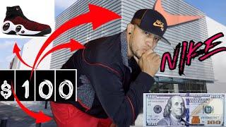 TODO LO QUE PUEDES COMPRAR CON SOLO $100 DOLARES EN TIENDA NIKE   EXELENTE COMPRA