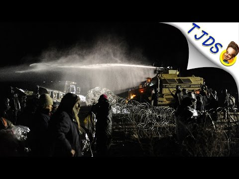 Cops Nearly Blow Off Arm Of Dakota Access Pipeline Protestor Then Lie About It