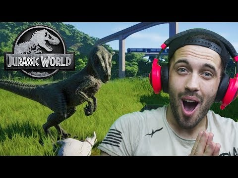 POBJEGAO MI JE RAPTOR IZ PARKA!! Jurassic World Evolution