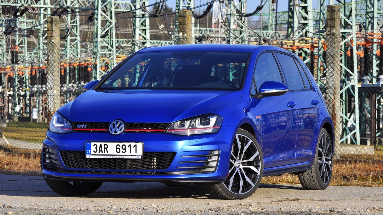 vw golf vii gti performance  test driving moments youtube
