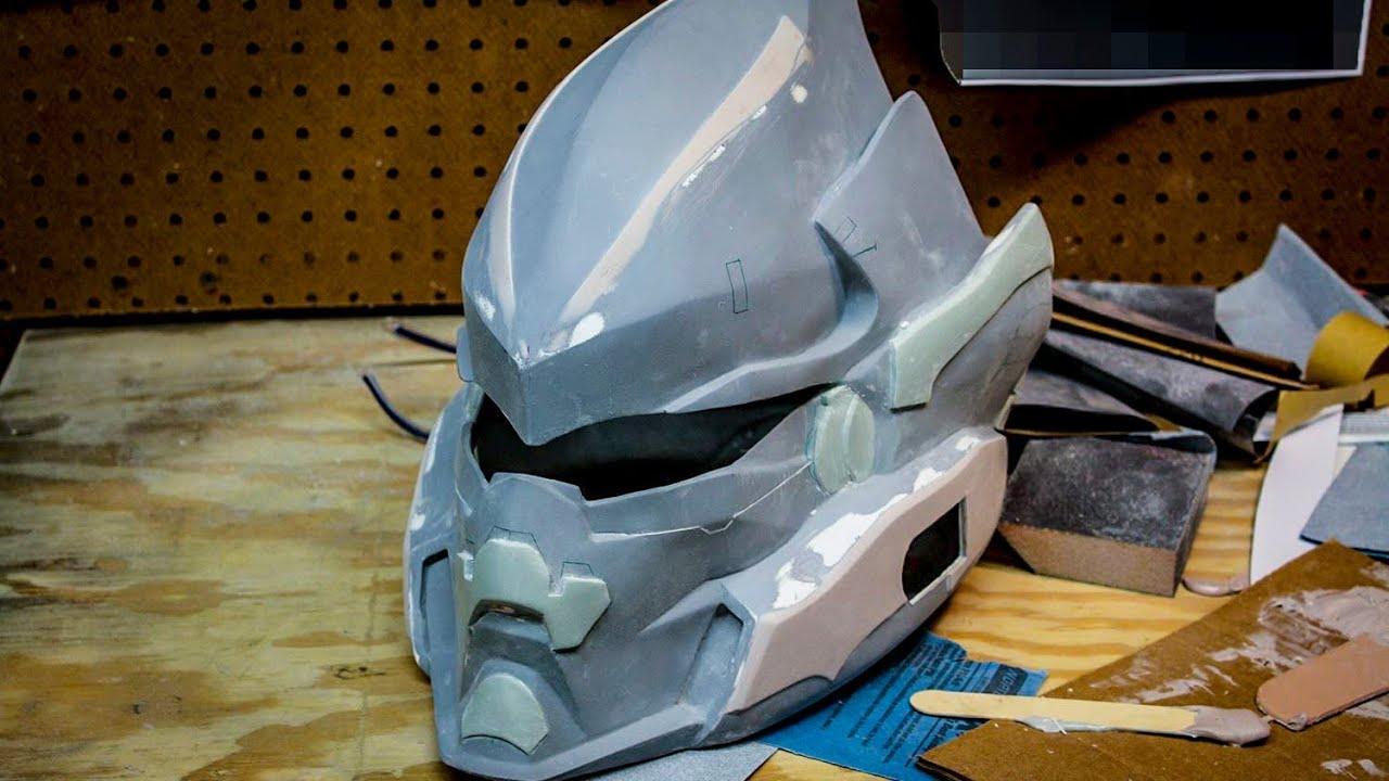 Halo 4 HAYABUSA - How To Detail Your Prop Helmet (BONDO ...