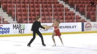 Alina Efimova & Alexander Petrov SD 2016 Lake Placid Championships