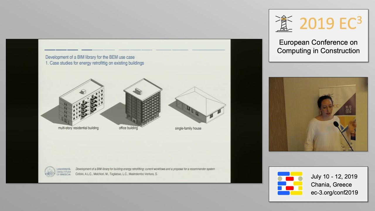 2019 EC3 - PPM - Silvia Mastrolembo Ventura - Development of a BIM library  for building ener