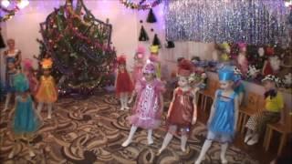танец конфеток на Новый год 2014- 2015 средняя гр