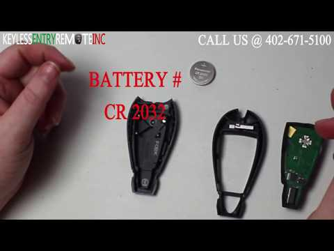 how to change battery in ram key fob