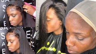 How to get a SUPER melted & blended lace install   HAIRBYERICKAJ.COM