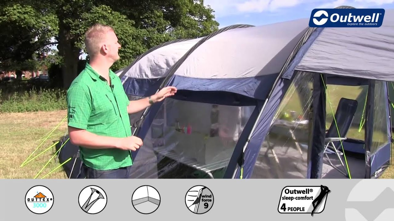 Outwell Tent Amarillo 6 - 2014 | Innovative Family C&ing & Outwell Tent Amarillo 6 - 2014 | Innovative Family Camping - YouTube