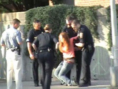 Cops bust cop-brutality protest