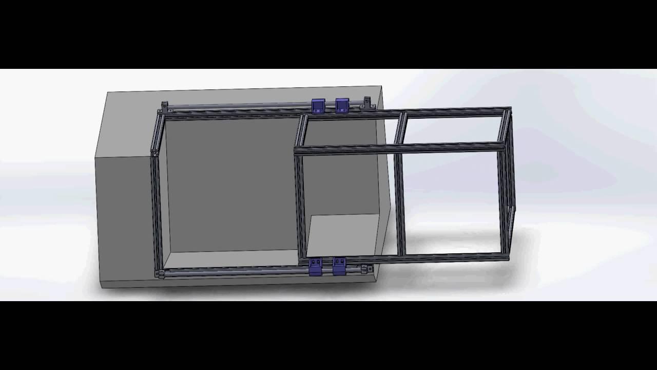 Lathe For Sale >> CNC lathe Boxford TCL 125 Door Slide - YouTube