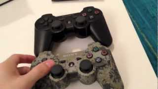 Ultimate Combo Pack Urban Camouflage PS3 DualShock 3 Controller + Killzone Trilogy Unboxing
